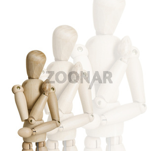 Wooden marionettes