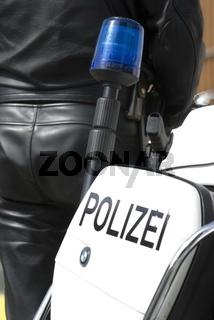 Motorrad der Poliziei