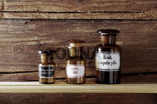 alte Medizinflaschen