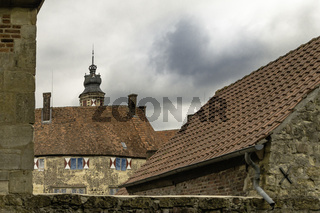 Burg Vischering in Lüdinghausen, Münsterland, NRW,