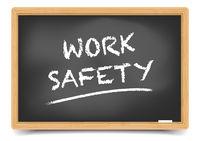 Blackboard Work Safety