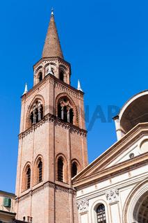 bellt ower of Basilica of Sant'Andrea in Mantua