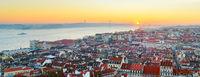 Lisbon skyline. Portugal