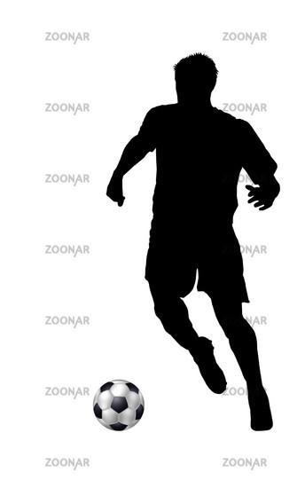 Photo Fussballspieler Silhouette Image 779658