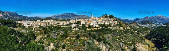 Polop de la Marina village. Spain