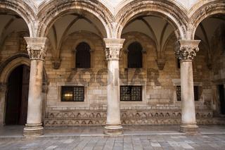 Rektorenpalast in Dubrovnik. Kroatien