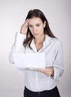woman gets letter with bad news