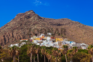 Village at beach Teresitas in Tenerife - Canary Islands