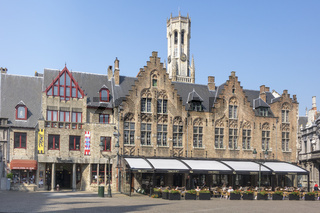 Restaurant In The Old Town Bruges Belgium