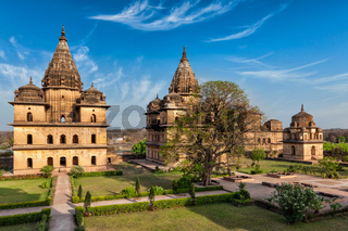 Royal cenotaphs of Orchha