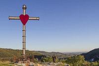 summit cross in Monti Lessini