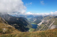 Visalpsee lake in Austrian Alps