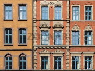 Hannover - Altstadtfassaden, Deutschland