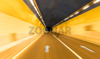 tunnel background motion blur