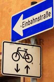 Einbahnstrasse