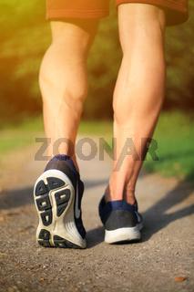 Laufen joggen Sport Training Jogging Fitness hochkant