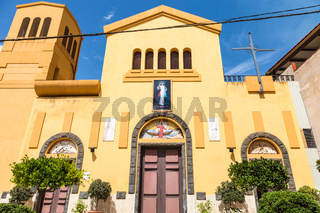 Chiesa di san pancrazio in Giardini Naxos town