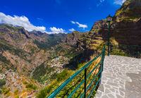 Viewpoint in mountains - Madeira Portugal