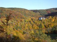 Autumn landscape Schwarzburg Zeughaus 1