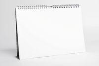 white calendar mockup