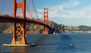 Golden Gate Bridge Fort Point San Francisco Bay California