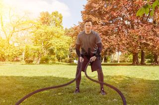 Battle Rope Functional Training mit Seilen