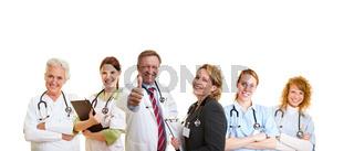 Erfolgreiches Ärzte-Team