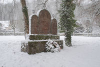 jewish graveyard in Schwaebisch Hall-Steinbach, Germany