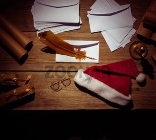 Santa Claus workplace