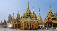 Shwedagon Paya pagoda, Myanmar