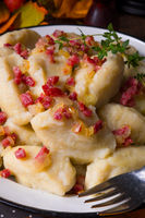 Potato dumpling originating from Poland