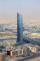 Dubai D1 Tower Luftaufnahme Luftbild