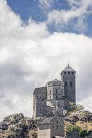 Notre-Dame de Valère  in Sitten in Switzerland