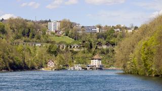 Schlössli Wörth beim Rheinfall, Schaffhausen, Schweiz