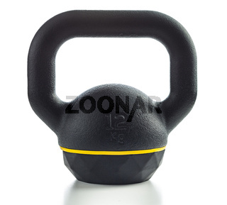 The black kettlebell.