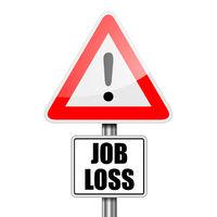 Road Sign Job Loss