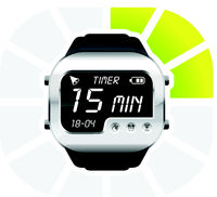 digital watch timer 15 minutes