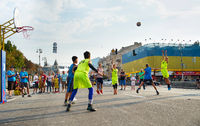 Streetball competition