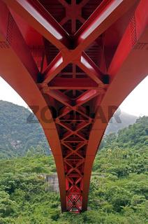 Rote Brücke, Taiwan