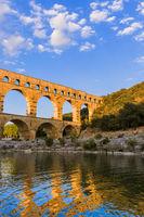 Aqueduct Pont du Gard - Provence France
