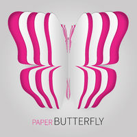 Multiple paper butterfly
