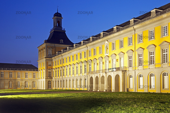 Electoral Palace, the main building of the university, Bonn, North Rhine-Westphalia, Germany, Europe