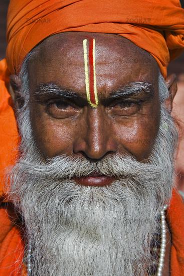 indian man, sadhu, Northindia, India, Asia