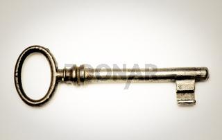 Alter Schlüssel old key
