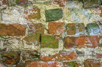 An old brick wall as a background