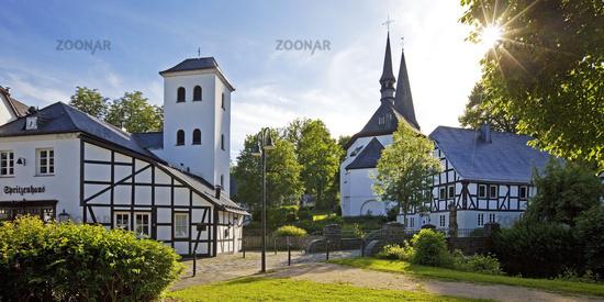 parish church Saints Peter and Paul, Eslohe, Sauerland, North Rhine-Westphalia, Germany, Europe