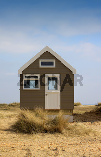 Isolated Beach Hut
