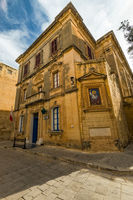 Old medieval church in Mdina,Malta