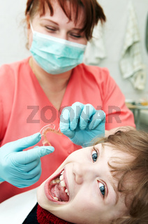 at dentist medic orthodontic doctor examination