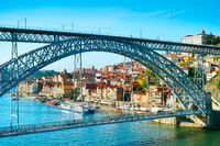 Eiffel bridge. Porto, Portugal